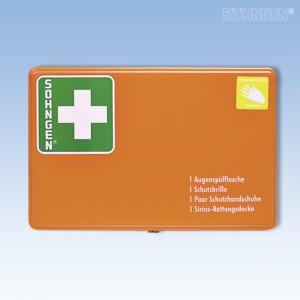 GGVS-Schutzausrüstung Behälter 2 Kunststoff orange