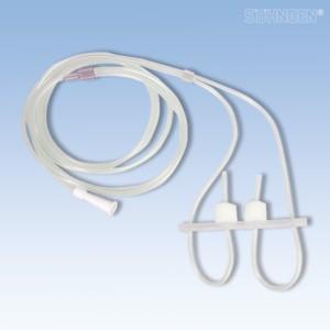 Sauerstoff-Brille mit Abdichtkompresse