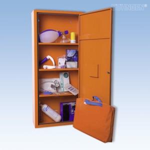 ANBAUSAFE Notfallmedizin gefüllt orange
