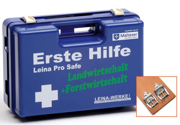 Erste-Hilfe-Koffer Leina Pro Safe - Land- + Forstwirtschaft