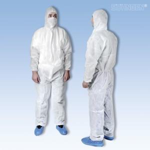 Einweg-Set Schutzbekleidung EXTRAGROß mit Overall XXL