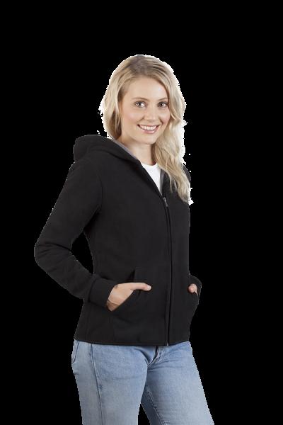 promodoro Womens Hooded Fleece Jacket