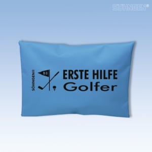 Erste Hilfe Golfer blau