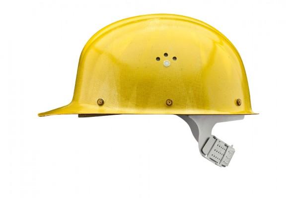 VOSS INTEX Schutzhelm, nachleuchtend lackiert mit umlaufenden Reflexstreifen