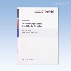 BGV A 1 - BG-Vorschrift Unfallverhütungsvorschrift