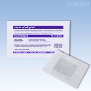 aludermaluplast Sterilverband 70 x 53 mm