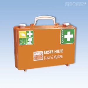 Erste-Hilfe-KUNST & WERKEN SN-CD orange