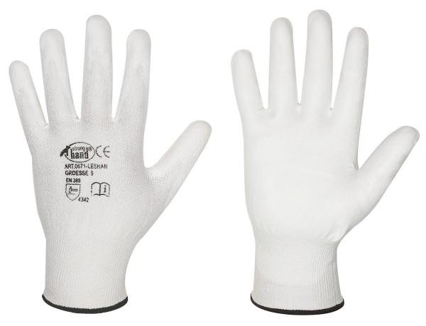 STRONGHAND Leshan leichter PU-Schnittschutzhandschuh Klasse B
