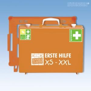 Erste-Hilfe-SCHULE XS-XXL MT-CD orange