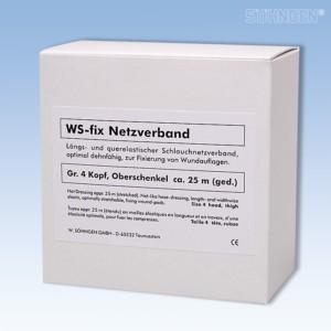 WS-fix Netzverband 25 Meter Gr 4 Kopf, Oberschenkel
