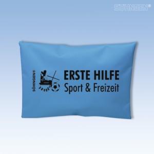 Erste Hilfe Sport & Freizeit blau