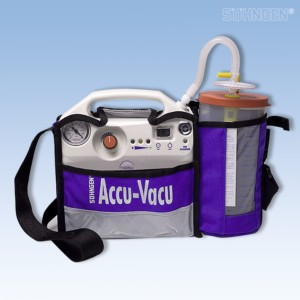 Accu-Vacu-Absauggerät incl. Netzladegerät u. Traget.