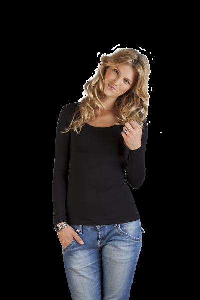 promodoro Womens Slim Fit-T LS