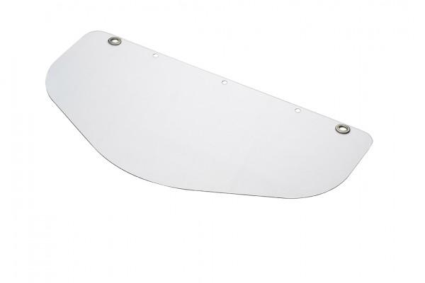 VOSS Gesichtsschutzschild PC 500*250 mm glasklar