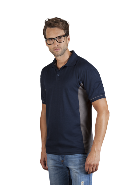 promodoro Mens Function Contrast Polo