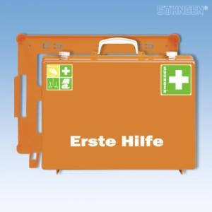 Erste Hilfe-Koffer MT-CD Industrie Norm Plus orange