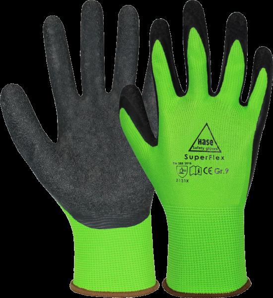 1 Paar Latex Arbeitshandschuhe Stronghand SPECIALGRIP beschichtete Handschuhe