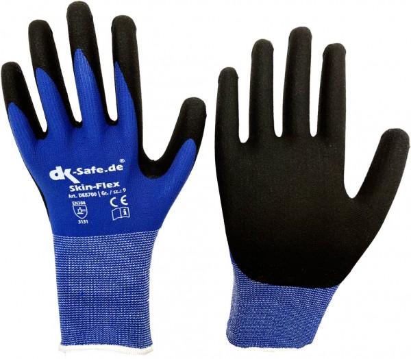 DK-Safe DK8700 SKIN-FLEX, atmungsaktive Arbeitshandschuhe mit rutschfester Spezialbeschichtung