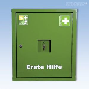 Verbandschrank EUROSAFE Industrie Norm grün