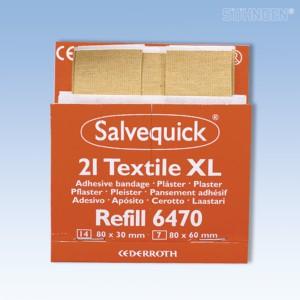 Salvequick Pflaster-Abschnitte elastisch 21 St. , Refill 6470