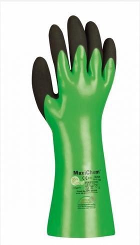 MaxiChem®, 35cm Nitril-Handschuhe