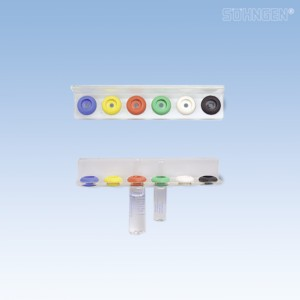 VARIOFLEX-Ampullenschiene Kst. einreihig für 6 Ampullen