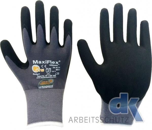 Gr.10 Montagehandschuhe 1 Paar MAXIFLEX ATG-Ultimate 34-874