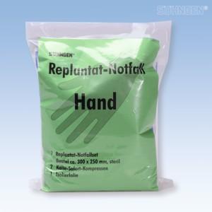 Replantat Notfallset SÖHNGEN klein für Hand