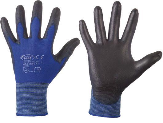 Nylon-Feinstrick Handschuh Ultra-Lite mit PU-Beschichtung