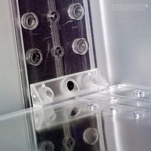 RASTFLEX Wechselclips 2 Stück mit Schrauben