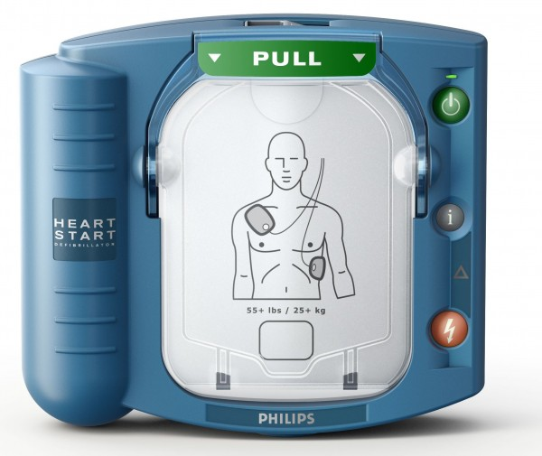 Philips Heart-Start HS1 Defibrillator inkl. Einweisung vor Ort