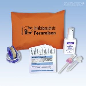 Infektionsschutz-Set Fernreisen orange