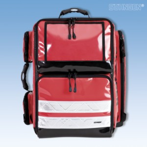 PROFiL Notfallrucksack rot gefüllt Modul A+B+O2 1L