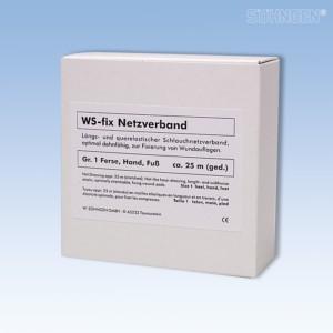 WS-fix Netzverband 25 Meter Gr 1 Ferse, Hand, Fuß