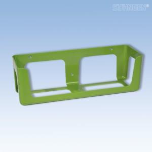 Wandhalterung KIEL Kunststoff grün