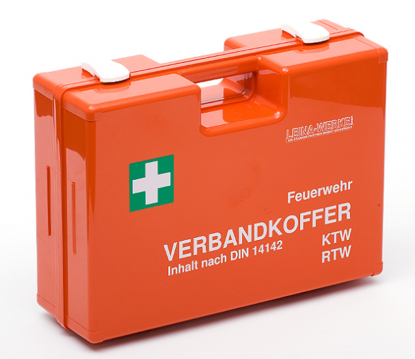 Verbandkoffer DIN 14142 für Krankenwagen und Feuerwehr