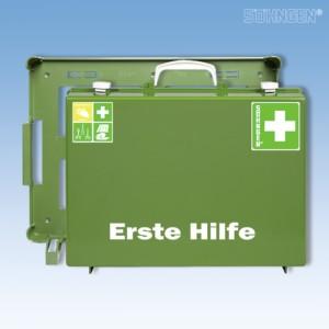 Erste Hilfe-Koffer MT-CD Industrie Norm grün