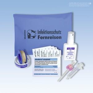 Infektionsschutz-Set Fernreisen blau