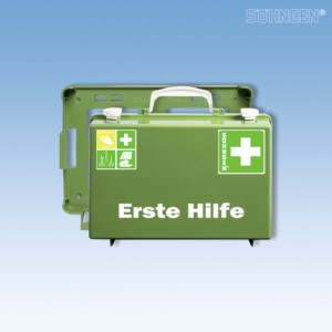 Erste Hilfe-Koffer SN-CD Norm Plus grün