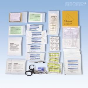 Füllung Standard DIN 13 160 Sanitätstaschen