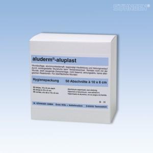 aluderm-aluplast elastisch Hygienepackung 10x6cm 50 Stück