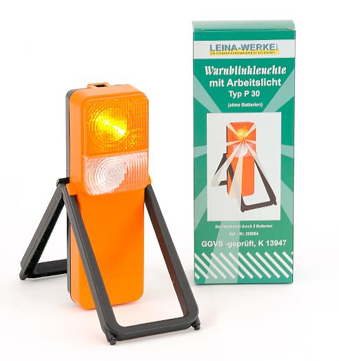 Leina Lkw Warnblinkleuchte Pkw Warnlicht Typ P 30 STVO K 13947 Pannenlicht