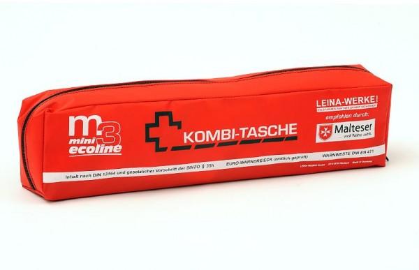 Mini Kombitasche - M3 (3-teilig) rot