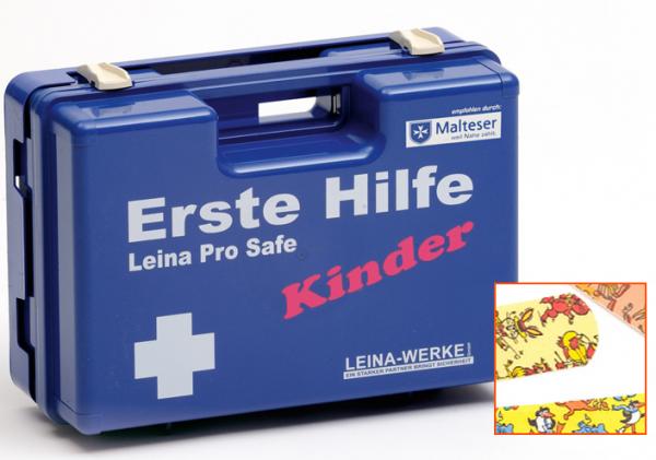 Erste-Hilfe-Koffer Leina Pro Safe - Kinder DIN 13157