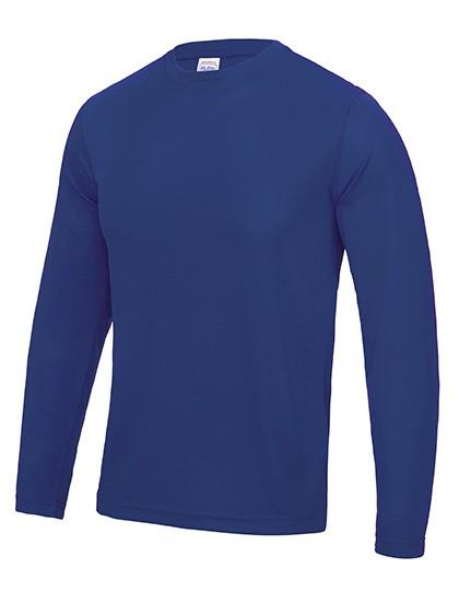 AWDis Long Sleeve Cool T-Shirt mit UV-Schutz