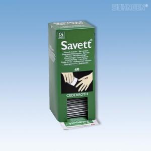 Salvequick-Wundreinigungs- tücher Nachfüllkarton 40