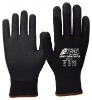Handschuhe Thermohandschuhe,Winterhandschuhe,Nässe,Nitril PVC Gr.10,5  1 Paar,
