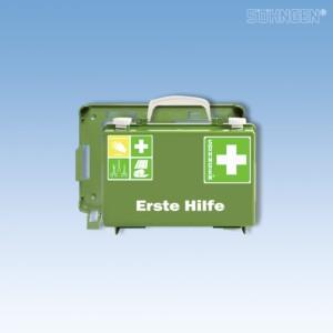 Erste Hilfe-Koffer QUICK-CD leer grün