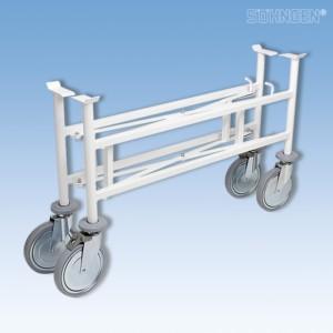Fahrgestell für Tragen klappbar