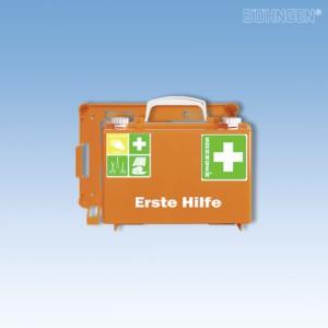 Erste Hilfe-Koffer QUICK-CD leer orange